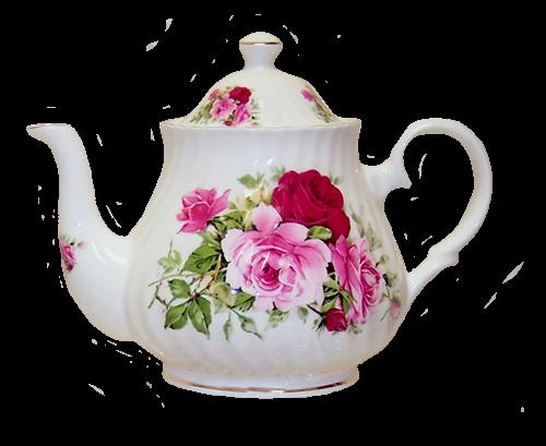 summertime Rose teapot