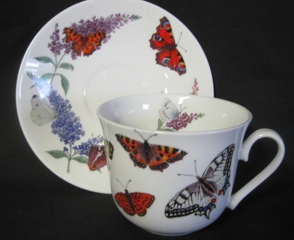 Butterfly Garden Breakfast Cups U2013 Set ...