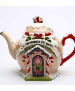 Santa's Village Teapot