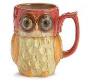 Mug Owl Burgundy 9723542_L