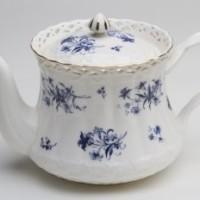 Blue Orchid Teapot